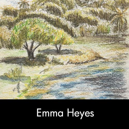 Drawing by Emma Heyes