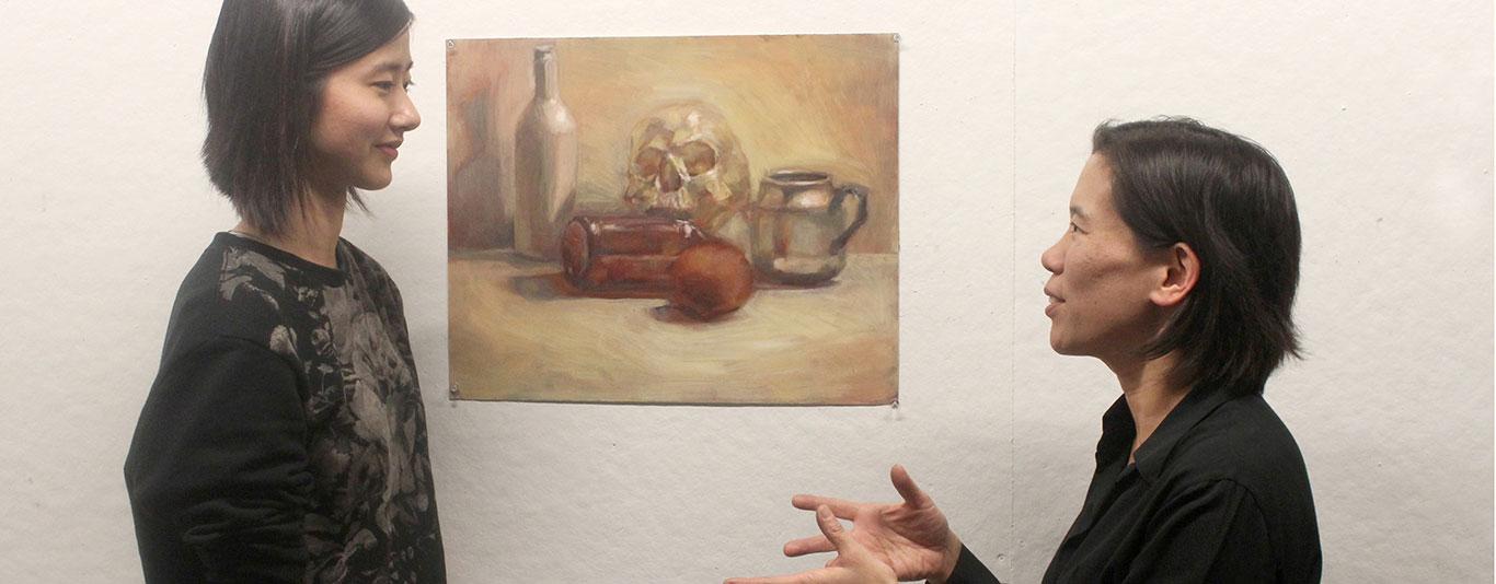 Art Critique: Still Life Oil Painting