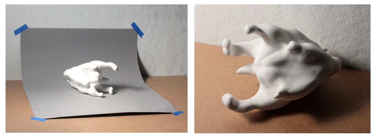 Art School Admissions Portfolio, Photographing 3D artwork