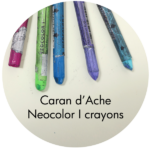 Art Supplies: Caran d'Ache Neocolor I Crayons