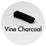 Art Supplies: Vine Charcoal