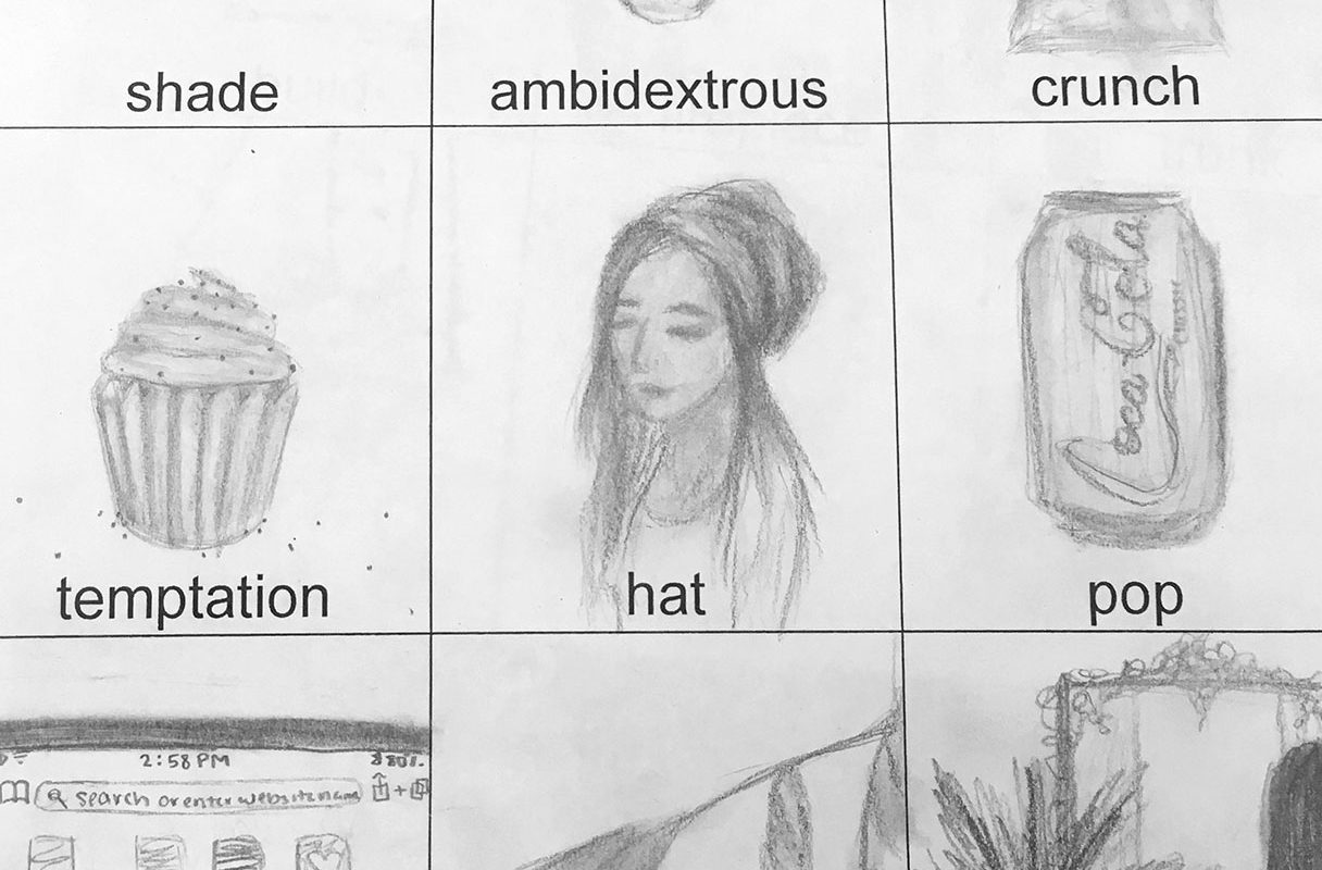 Drawing by Hebron High School Student