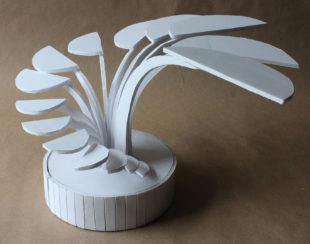 Foam Board Sculpture by Britt Sodersjerna