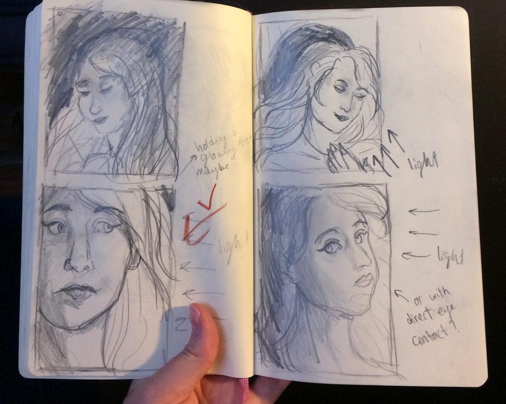 Thumbnail Sketches, Stephanie Gibadlo