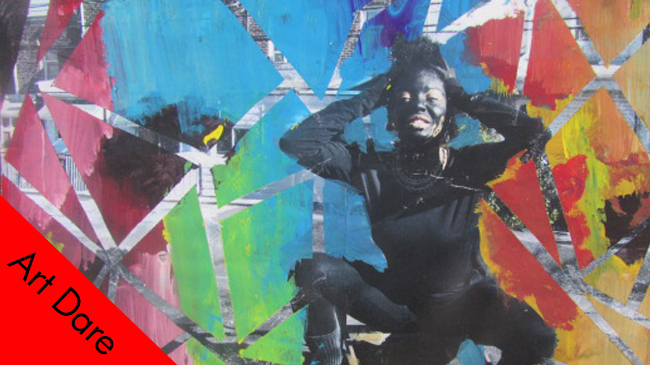 Mixed Media Collage: Painting & Photography