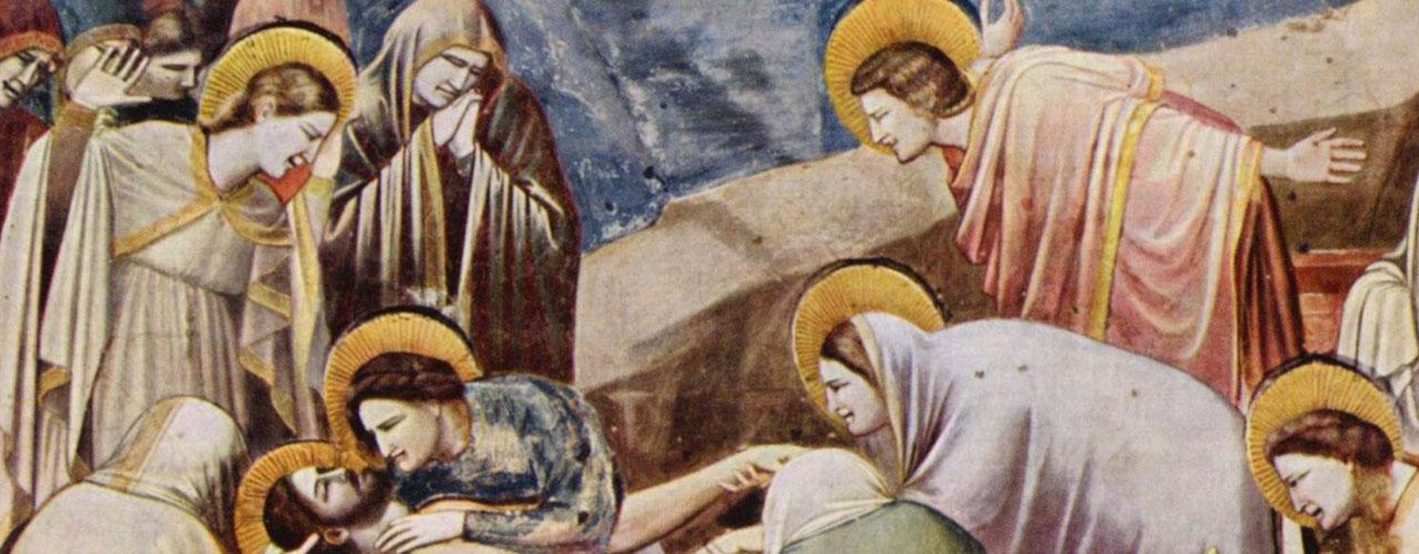 Giotto, The Lamentation, Scrovegni Chapel fresco