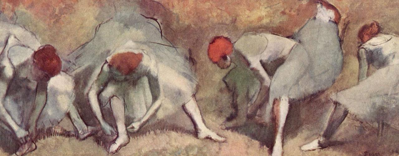 Edgar Degas, Pastel Drawings of Ballet Dancers