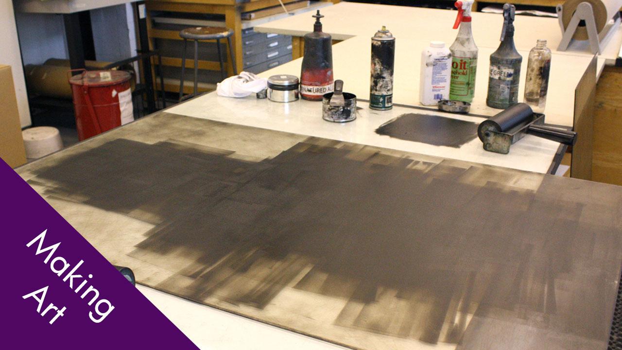 Printmaking: Monotypes