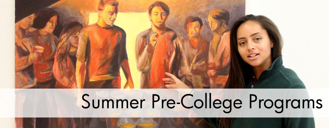 Summer Pre-College Studio Art Programs