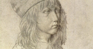 Albrecht Durer, Self-Portrait at 13