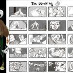 Art School Admissions Portfolio: Storyboard & Character Design