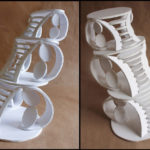 Art School Admissions Portfolio: Foam Board Sculpture