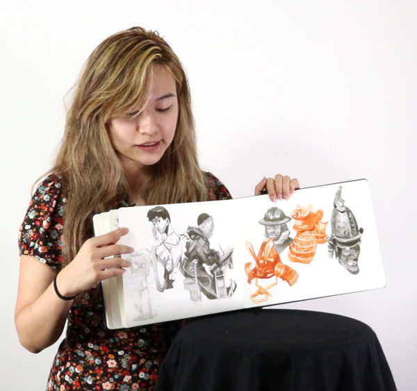 Artist Sketchbook, Julie Benbasset