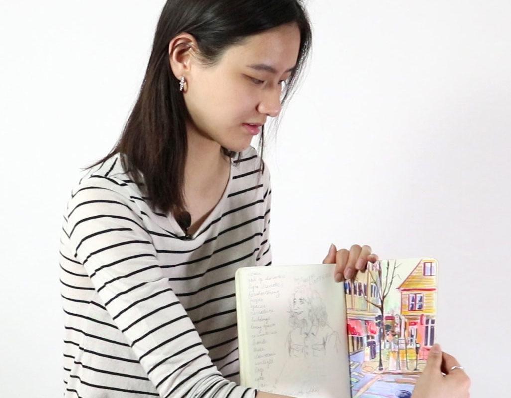Artist Sketchbook, Catherine Huang