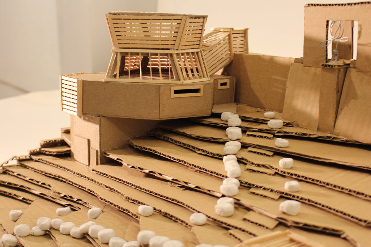 Architectural Model by Lucy Saltonstall