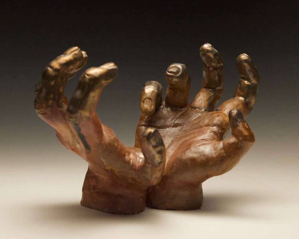 Ceramic Clay Sculpture by Lucy Saltonstall
