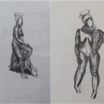 Art School Admissions Portfolio: Charcoal Figure Drawing