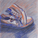 Art School Admissions Portfolio: Colored Pencil Drawing