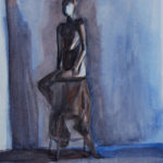 Art School Admissions Portfolio: Watercolor Figure Painting