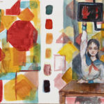 Art School Admissions Portfolio: Watercolor Painting