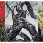 Art School Admissions Portfolio: Painting Triptych