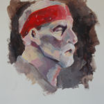 Art School Admissions Portfolio: Acrylic Portrait Painting
