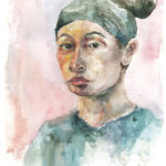 Art School Admissions Portfolio: Watercolor Portrait Painting
