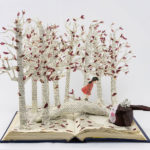 Art School Admissions Portfolio: Recycled Book Sculpture