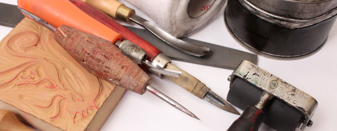 Art Supplies: Tools for Printmaking