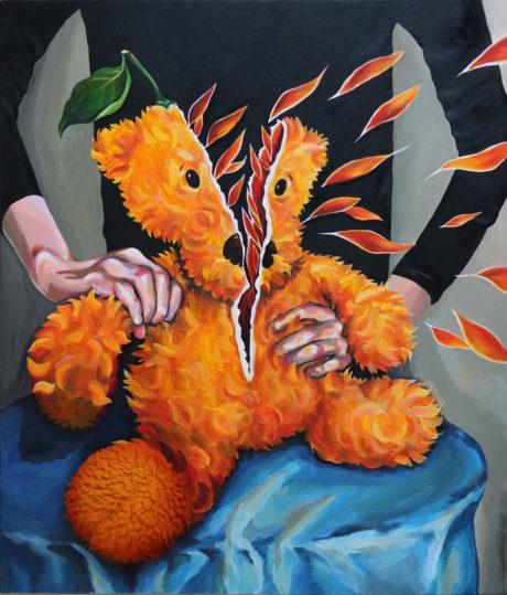 Acrylic Painting by Hyeji Kim