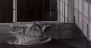 Art Critique: Oil Painting of Boar's Head
