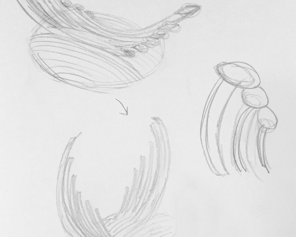 1. Concept Pencil Sketches