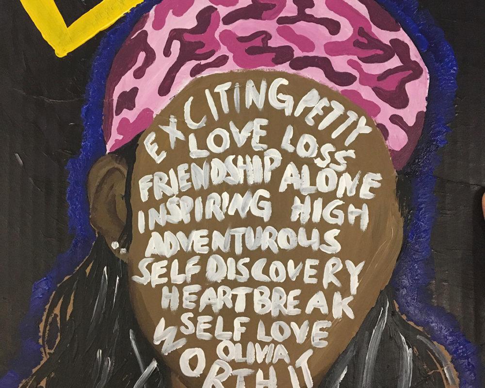 Acrylic Painting by Baldwin High School Student