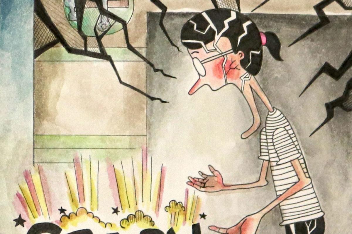 Art Prof June Art Dare Comic by Hyeji Kim