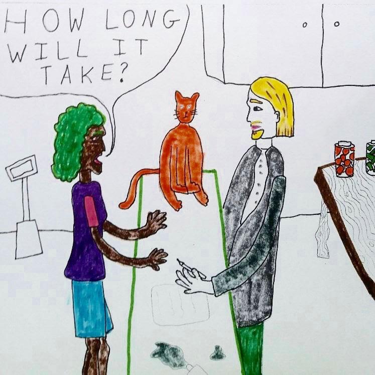 Art Prof June Art Dare Comic by Ursa Woodring