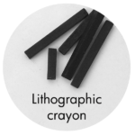 Art Supplies: Lithographic Crayons