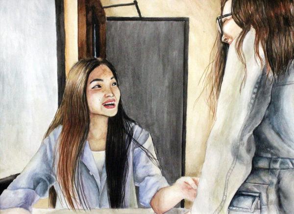 Yannis Kwon, High School Art Student