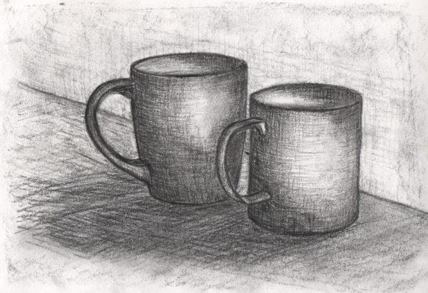 Charcoal Drawing, Jay Bhagavatula