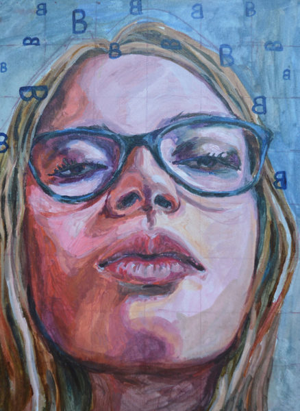Acrylic Painting, Tabea Reif