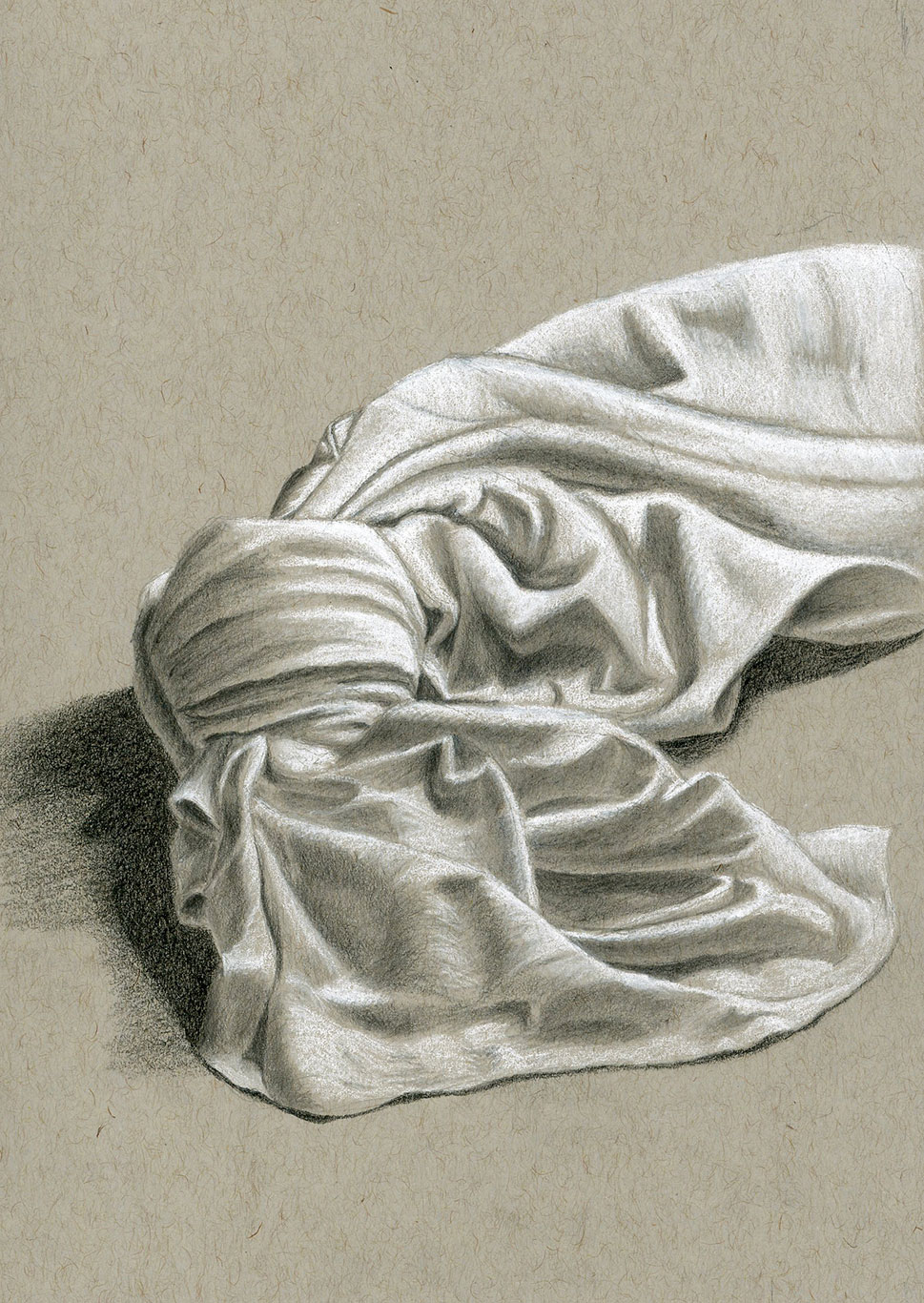Graphite Drawing, Evelyn Lockhart, USA