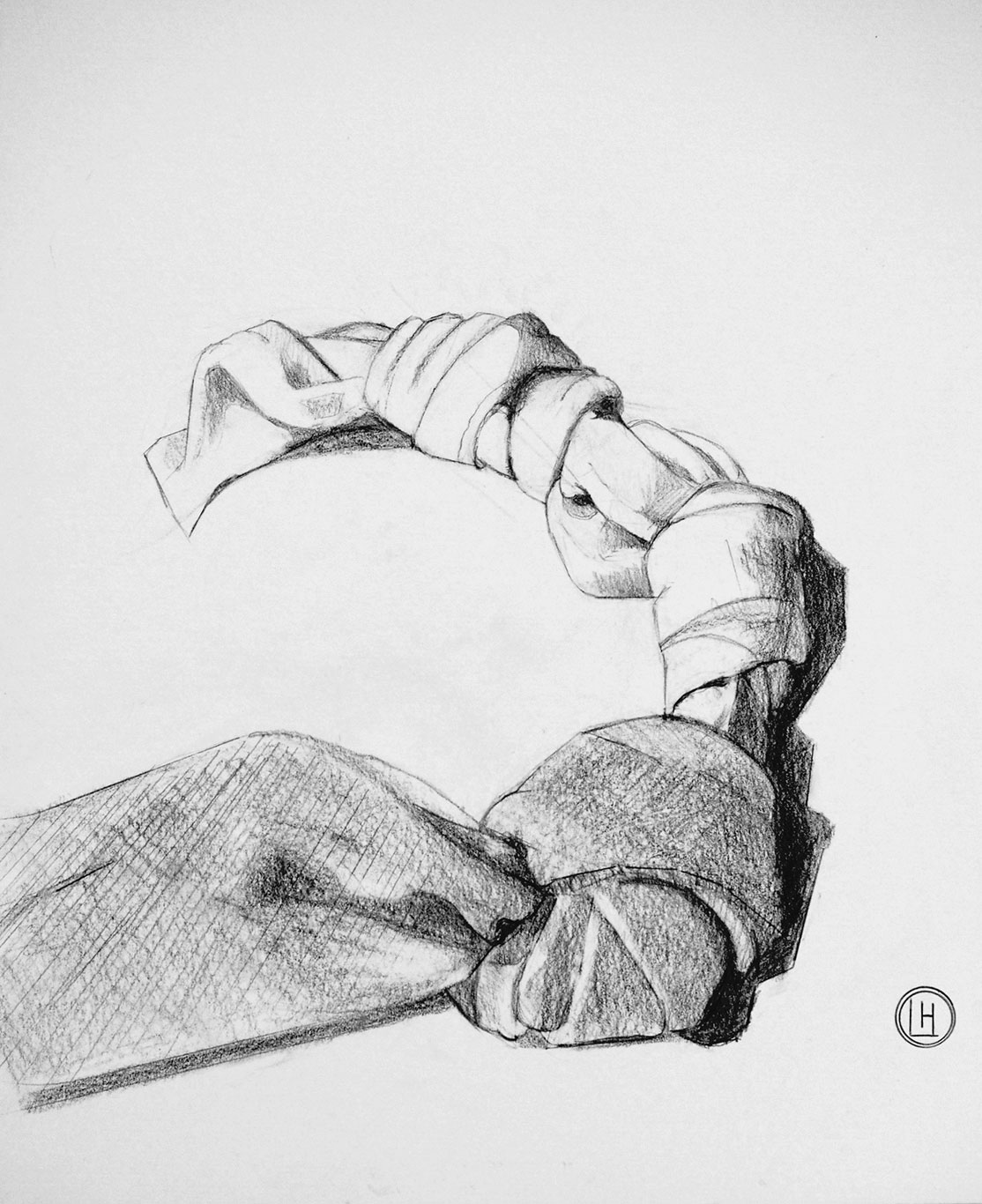 Graphite Drawing, Lee Hutt, USA