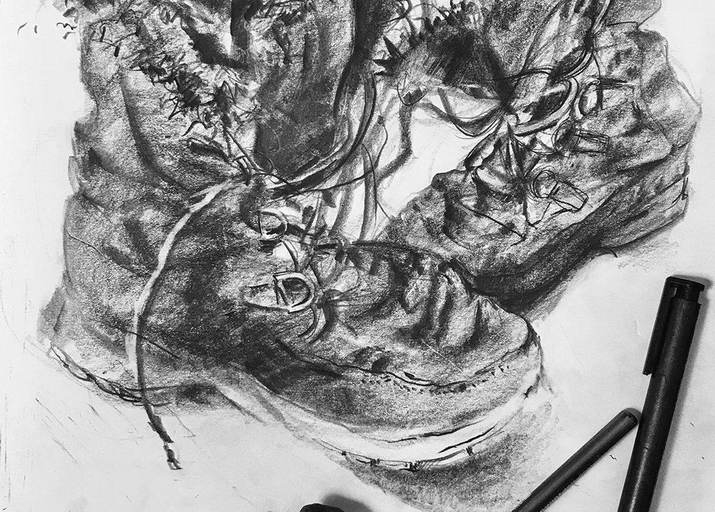 Graphite Drawing, Prof Clara Lieu