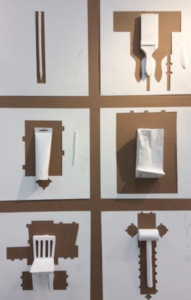 Amy Hollshwandner, paper sculpture