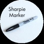 Art Supplies: Sharpie Marker