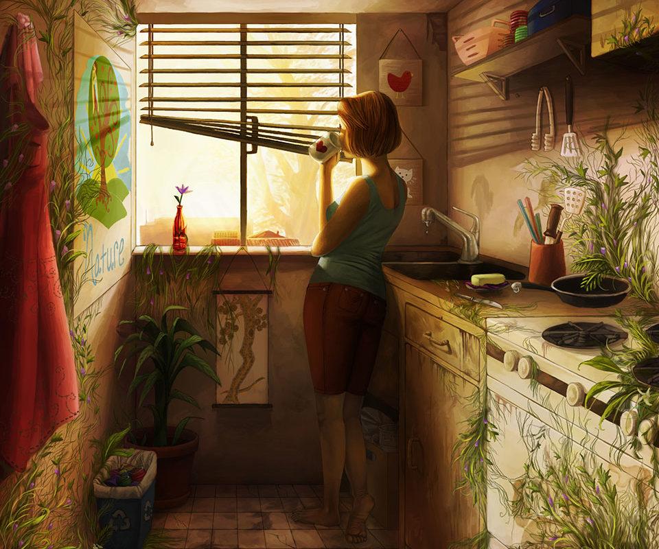 Digital Painting, Catherine Huang