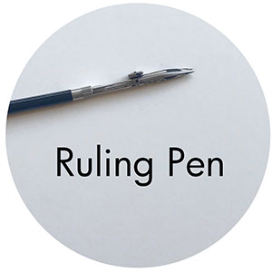 Art Supplies: Ruling Pen