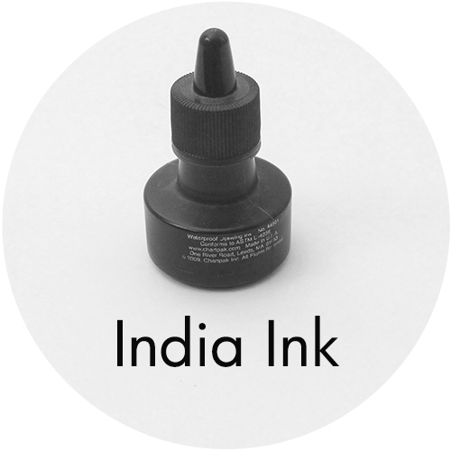 Art Supplies: India Ink