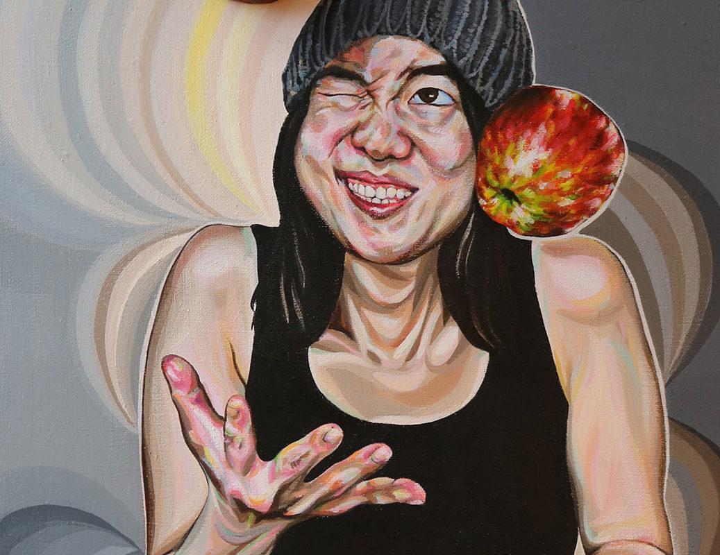 Mixed Media Painting, Hyeji Kim