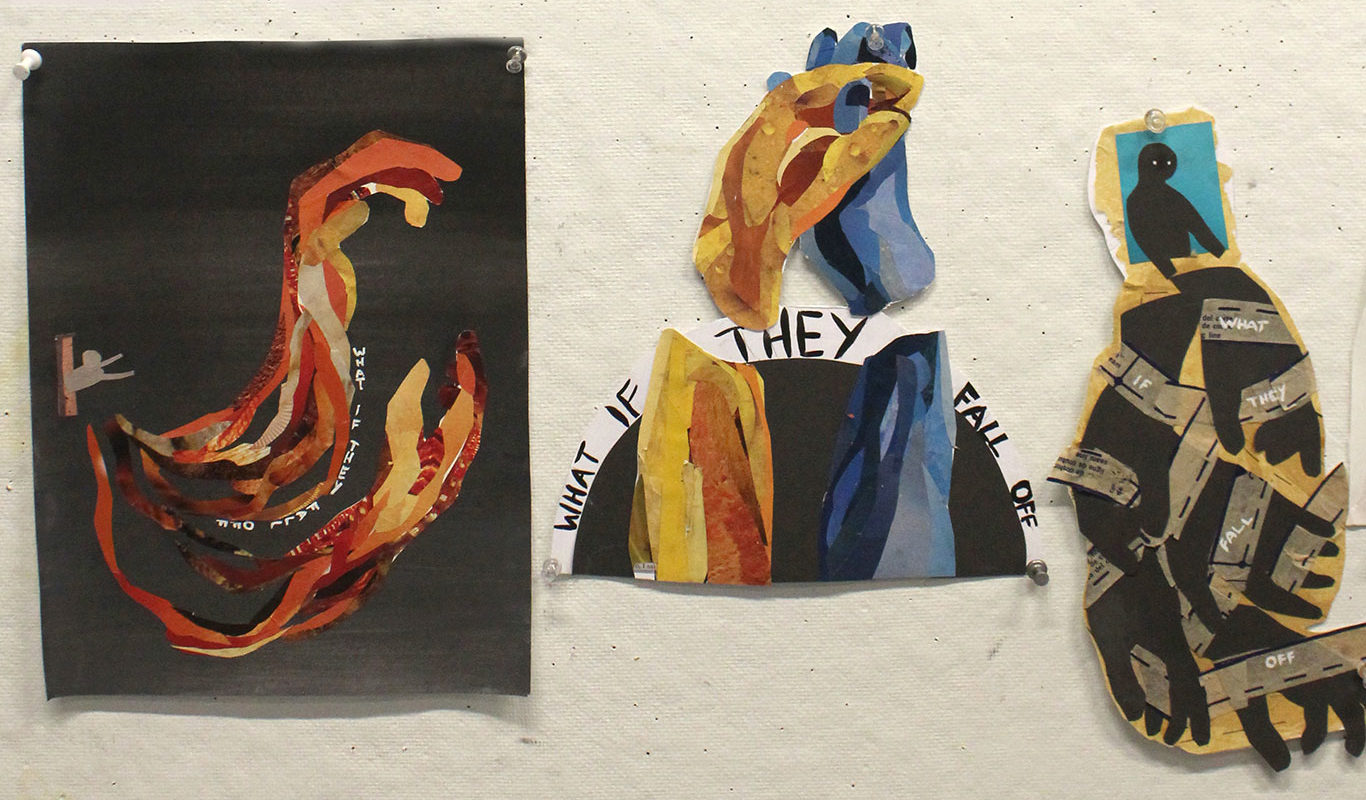 Sketches for a Mixed Media Collage Project