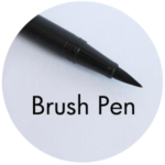 Art Supplies: Brush Pen